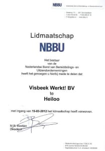NBBU Visbeek Werkt!